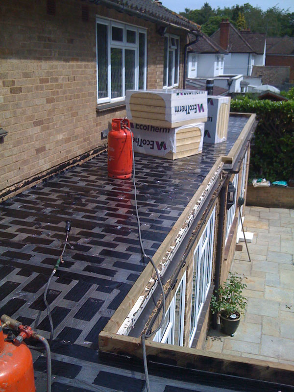 Decking materials flat roof decking material for Roof sheathing material options